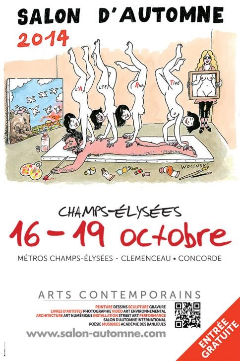 salon-automne-2014-affiche-wolinski-2-484x727
